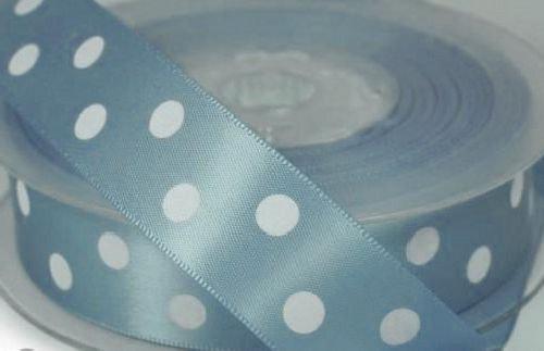 Saténová stuha 22 mm: Sv. modrá