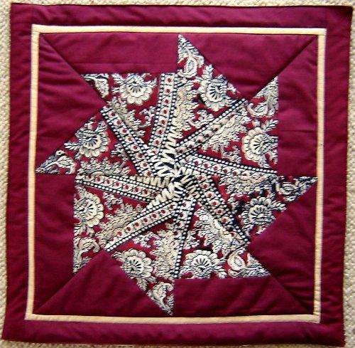 patchworkový polštář