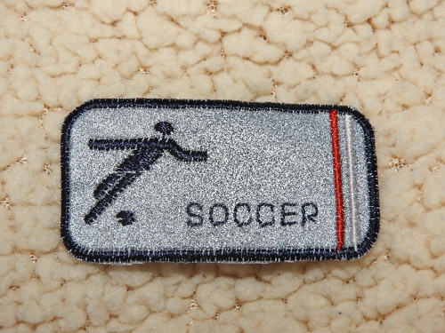 Nažehlovačka reflexní Soccer