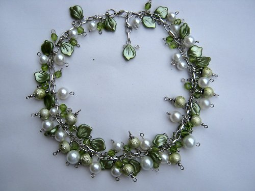 Deep forest náhrdelník