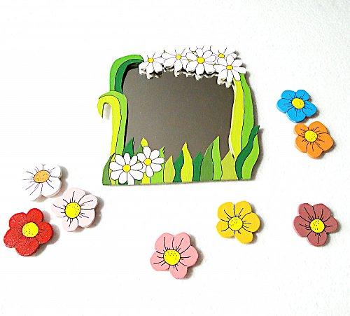 kytičky k zrcadlu