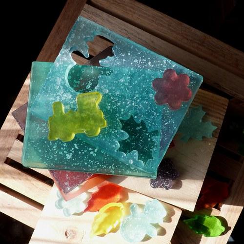 Mýdlové pláty na vykrajování_mix 2 ks