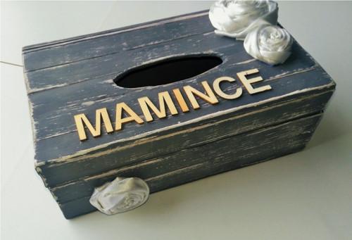 Krabička na ubrousky - mamince