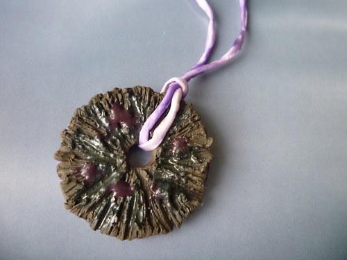 Kolo kolo mlýnské - náhrdelník - SLEVA