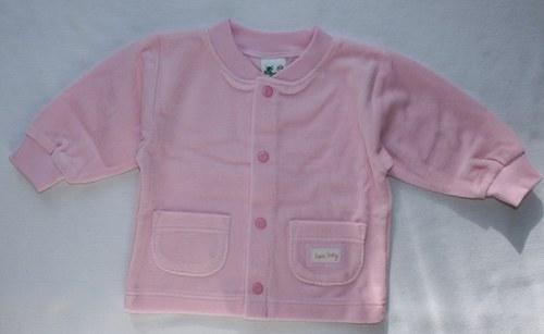 sametový kojenecký kabátek vel 62