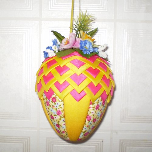 Artyčokové vajíčko - růžovo-žluté