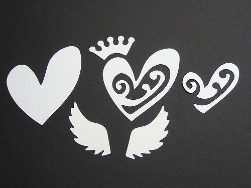 Výseky srdce a křídel k dalšímu využití