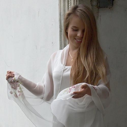 Hedvábný svatební pléd - Jsem tvojí princeznou