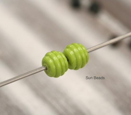 Tvarovaný barel malý zelený