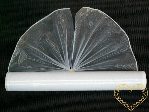 Organza bílá, šíře 38 cm, délka 9 m