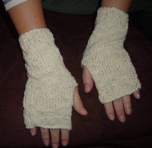 krémové rukavice