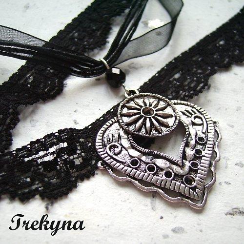 Gothic náhrdelník Tlukot srdce