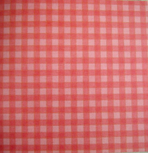 Pink Checked_Garden Party