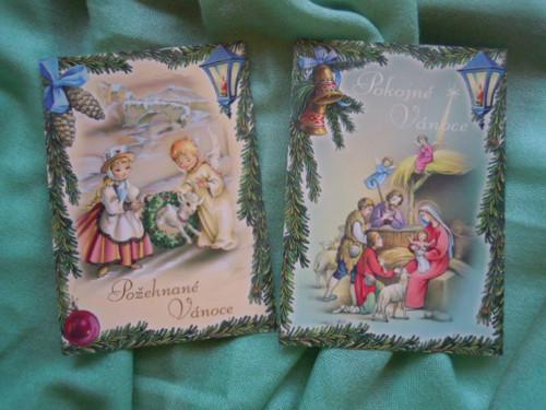 Vánoční pohlednice č.1