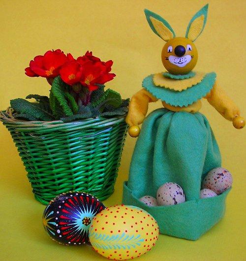 Zajíček - jaro je tady