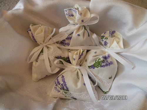 Levandulové pytlíčky