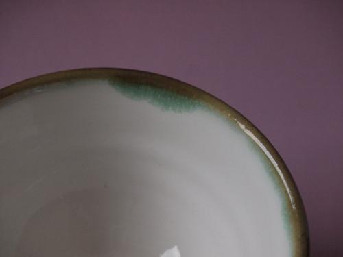 MISKA čajová - tmavě zelená