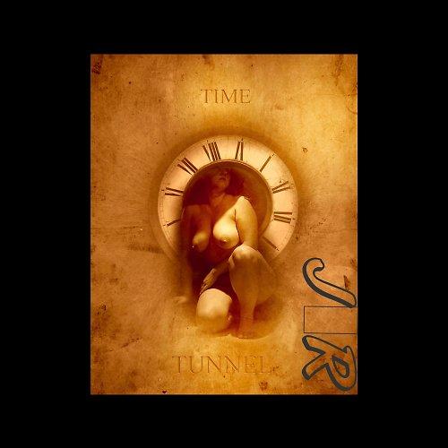 Fotomontáž Time Tunnel