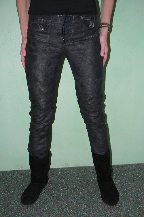 Myší kožíšek - kalhoty-SLEVA z 555 kč