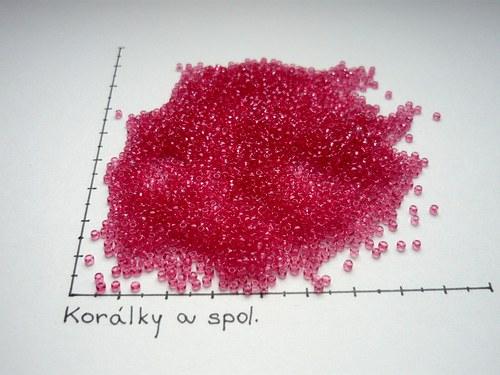 Rokajl růžový 10/0 2,5mm, 20g