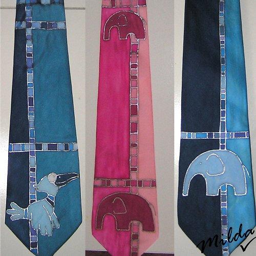 Kravaty s obrázkem