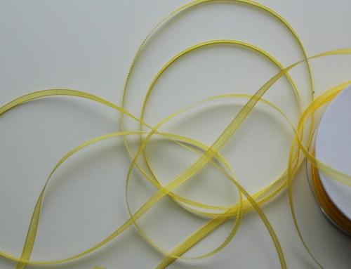 Dekorační stuha š. 3 mm, 5 m