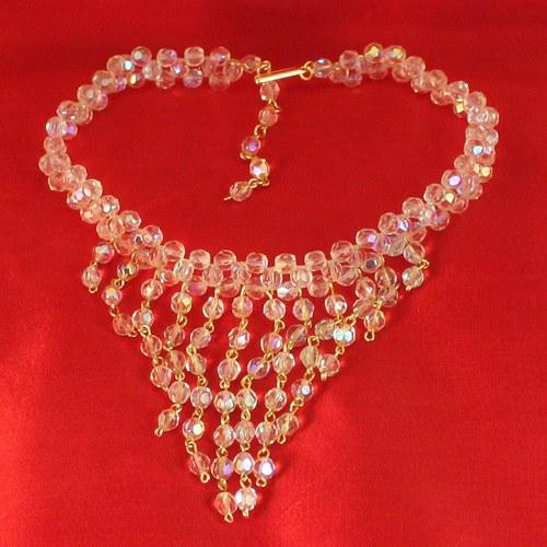Křišťálově duhový náhrdelník