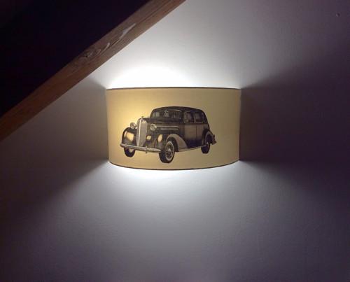 Stínítko pro nástěnné osvětlení Veterán