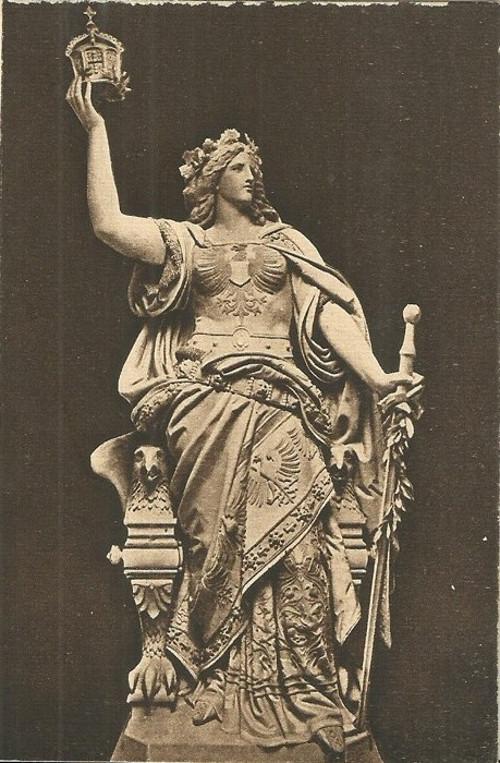 Umělecká pohlednice Figurální
