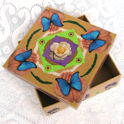 Na křídlech motýlích... - krabička