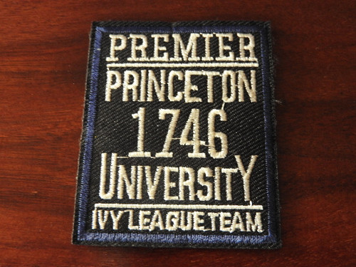 Nažehlovačka mix Princeton university