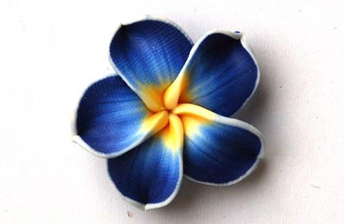 Fimo květ 8x30mm