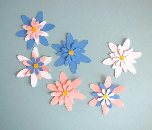Vrstvené květy