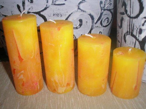 adventní svíčky s vůní vanilky