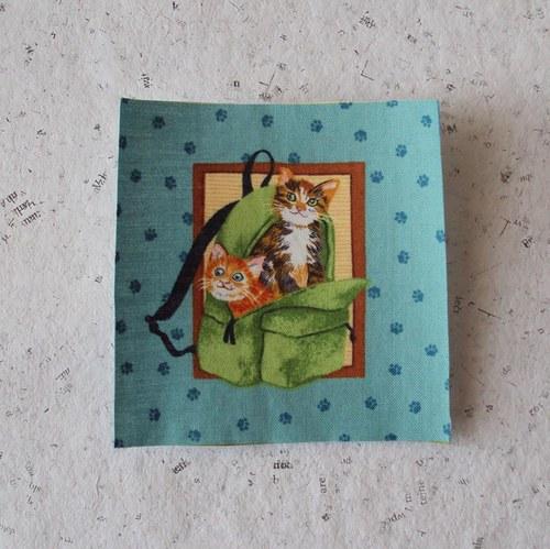 Hravé kočičky 6 - nažehlovačka