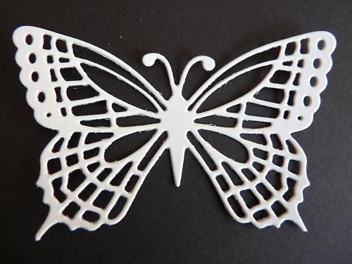 Výsek - motýl