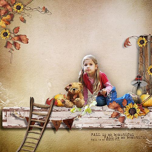 Podzimní koláž pro Vaše fotky