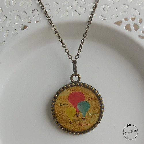 Balloons - náhrdelník