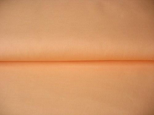 Jednobarevné plátno UNI 100% bavlna Lososová