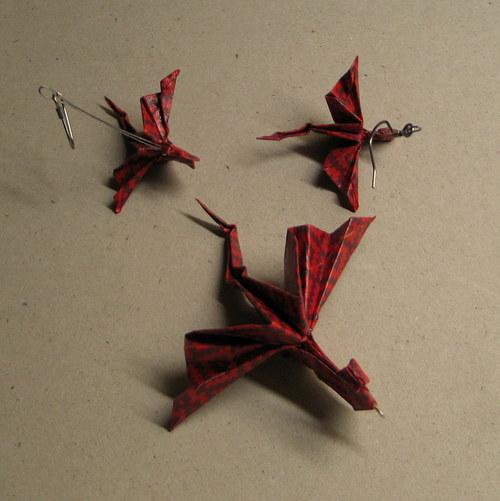 Dračí souprava  - Origami