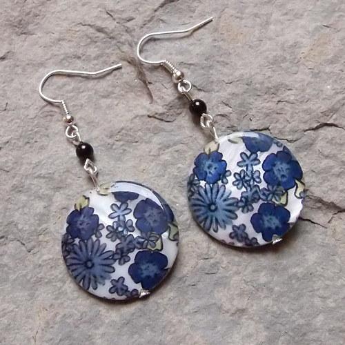 Modré perleťovky