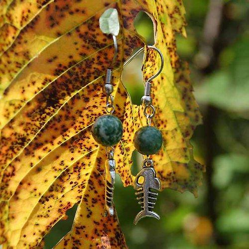 Stromově achátové rybí kostřičky