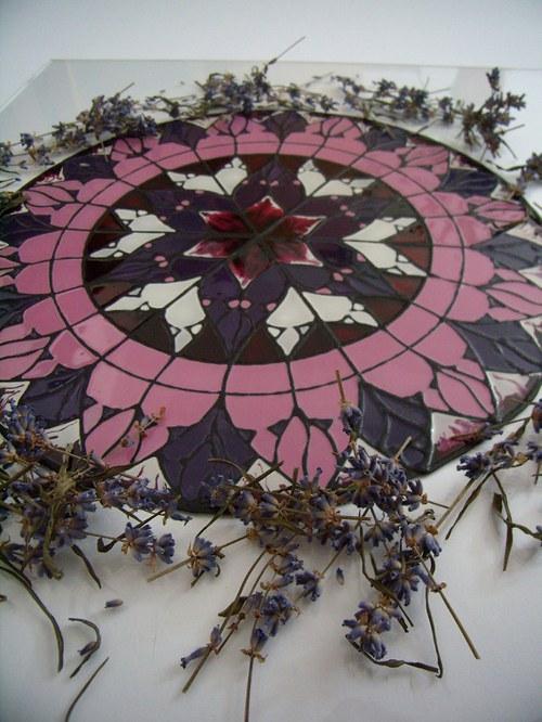 Fialová Mandala