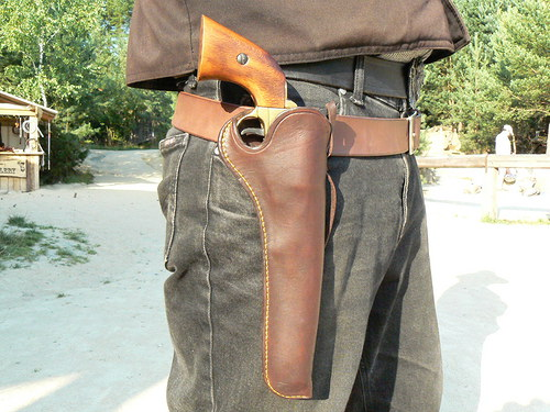 holster - Old West - Slim Jim