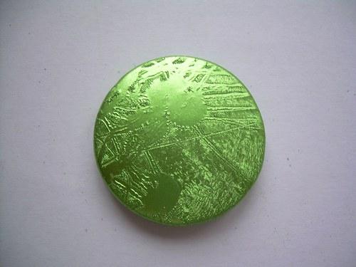 Zelené kolečko - 2 ks