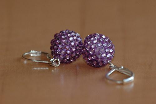 Zářivě fialové mini
