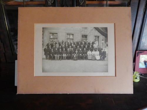OFICÍŘI - velká foto v paspartě 50 x 40 cm