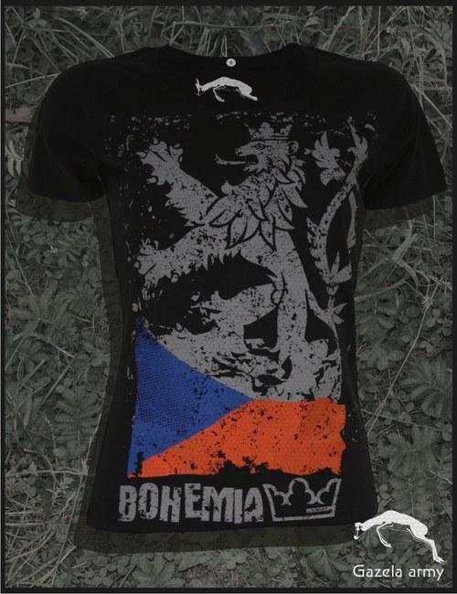 Tričko Conflict dámské Bohemia černé