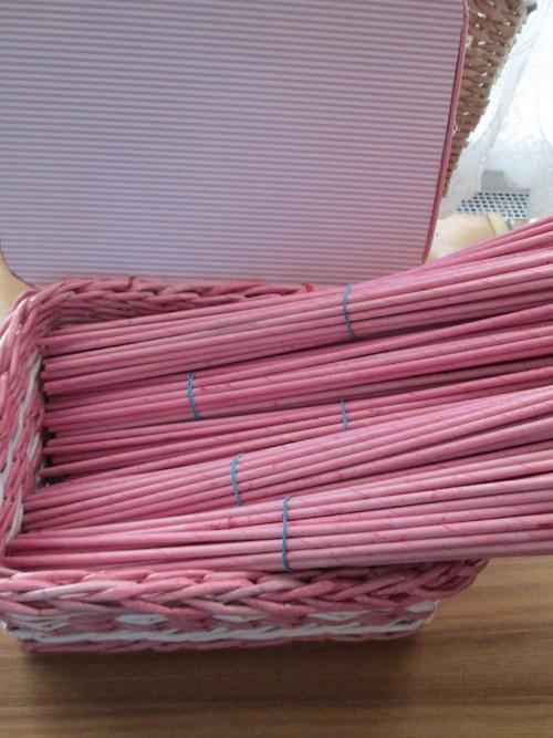 Růžové ruličky