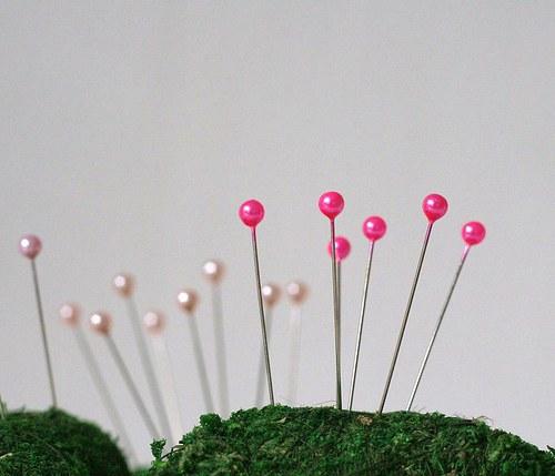 Špendlík růžový 12 ks